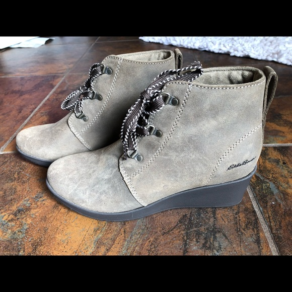 1d1b0db967b0 Eddie Bauer Shoes - Eddie Bauer Women s Evanesce Wedge Boot - NWT